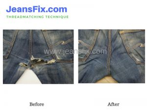 Jeans Crotch Patching Singapore