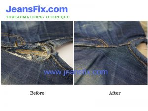 Jeans Hole Repair Service Singapore